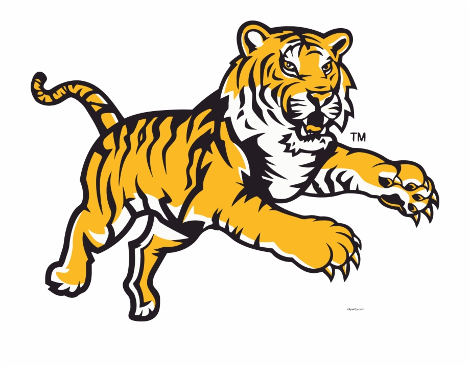Angry tiger clipart transparent download Angry Tigger Attack Jump Clipart Png - Lsu Tigers, Transparent Png ... transparent download
