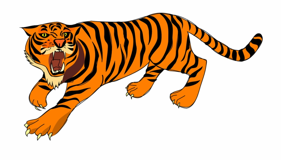 Angry tiger clipart clip art free library Tiger Angry Defense Stripes Png Image - Tiger Clipart Free PNG ... clip art free library