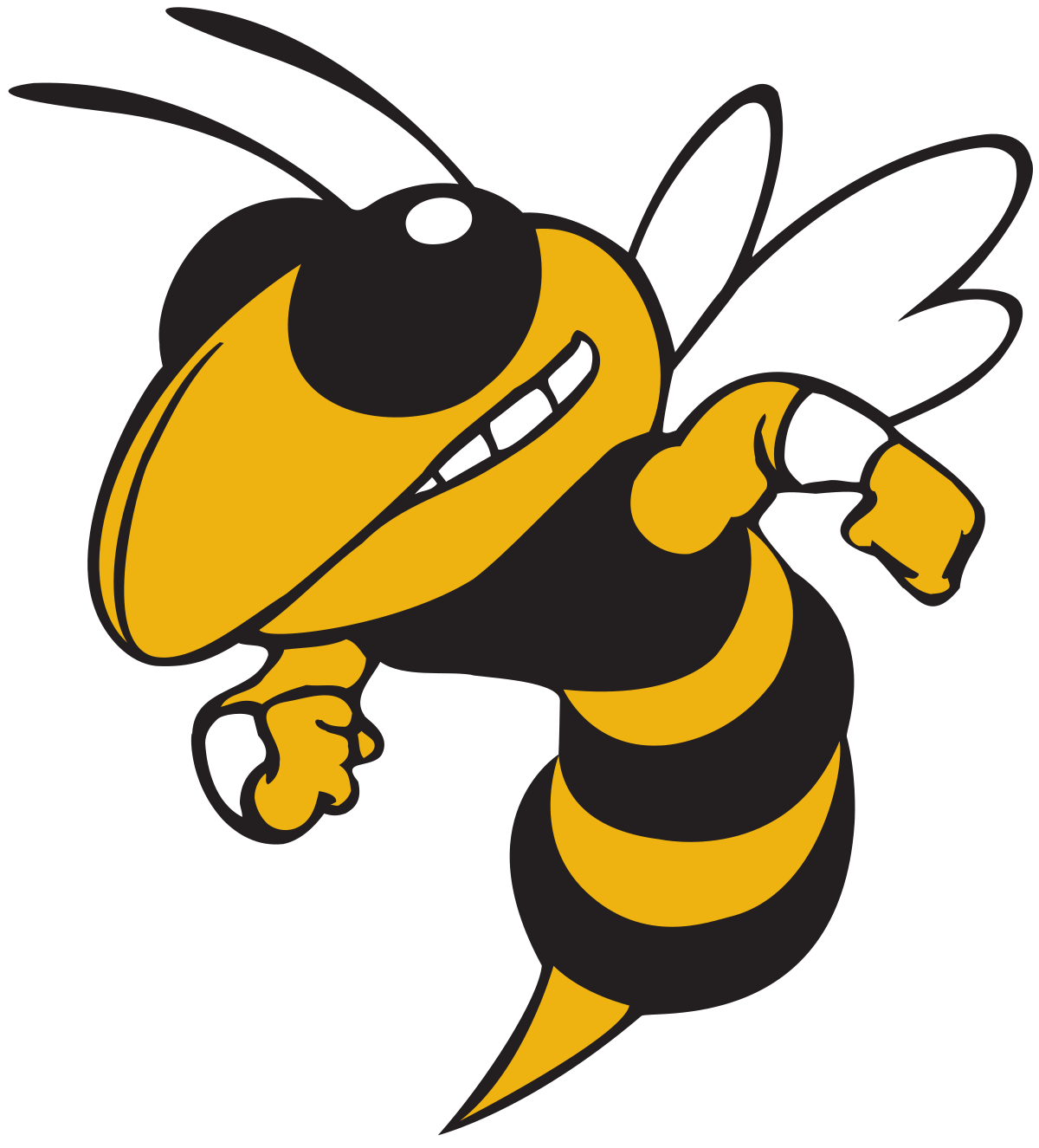 Angry yellow jacket clipart graphic library stock Yellow Jacket Clipart | Free download best Yellow Jacket Clipart on ... graphic library stock