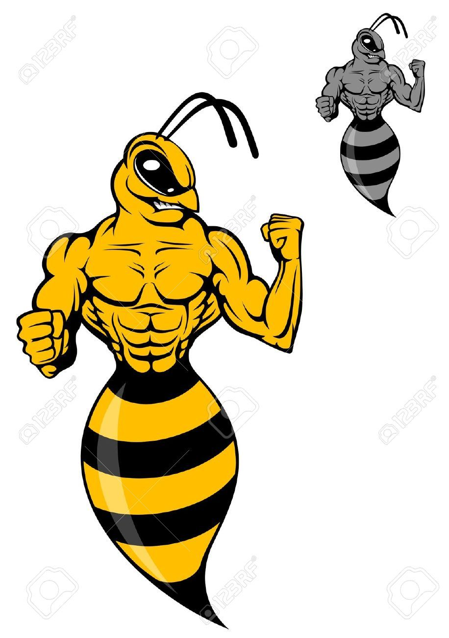 Angry yellow jacket clipart clip library library Images For > Cartoon Orange Yellow Jacket | Spread Option Oasis ... clip library library