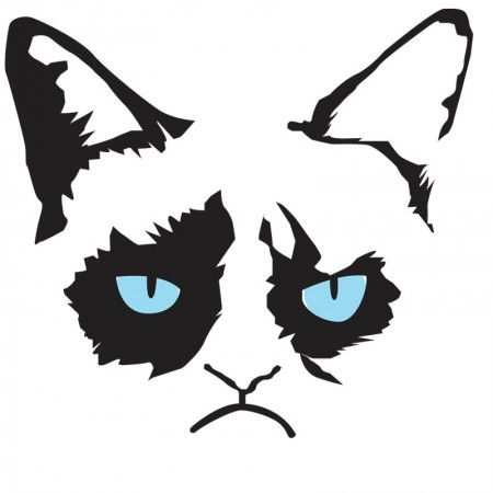 Angrycat clipart svg download Gallery For > Grumpy Cat Clipart | Ideas & inspiration | Grumpy cat ... svg download