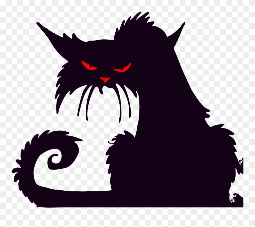 Angrycat clipart clipart free library Sketchcat Clip Art Of Grumpy - Angry Cat Clip Art - Png Download ... clipart free library