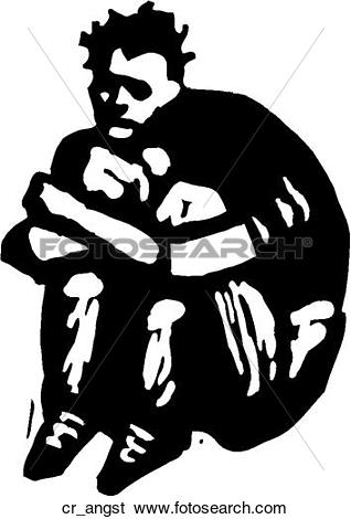 Clip art of creative. Angst kind clipart