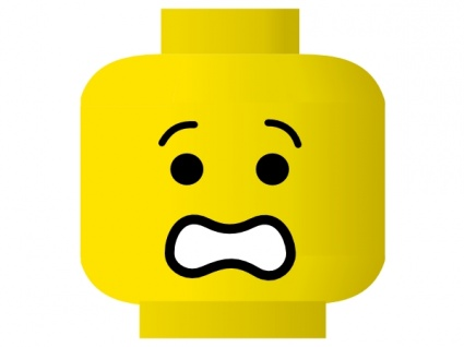 Angst kind clipart. Furcht clipartfest lego smiley