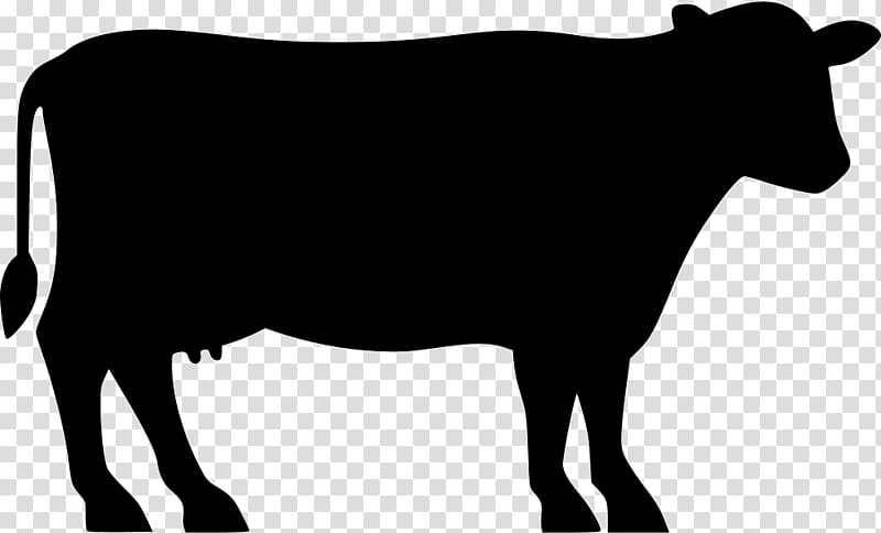 Cow silhouette clipart free clip black and white download Silhouette cow illustration, Angus cattle Beef cattle Silhouette ... clip black and white download