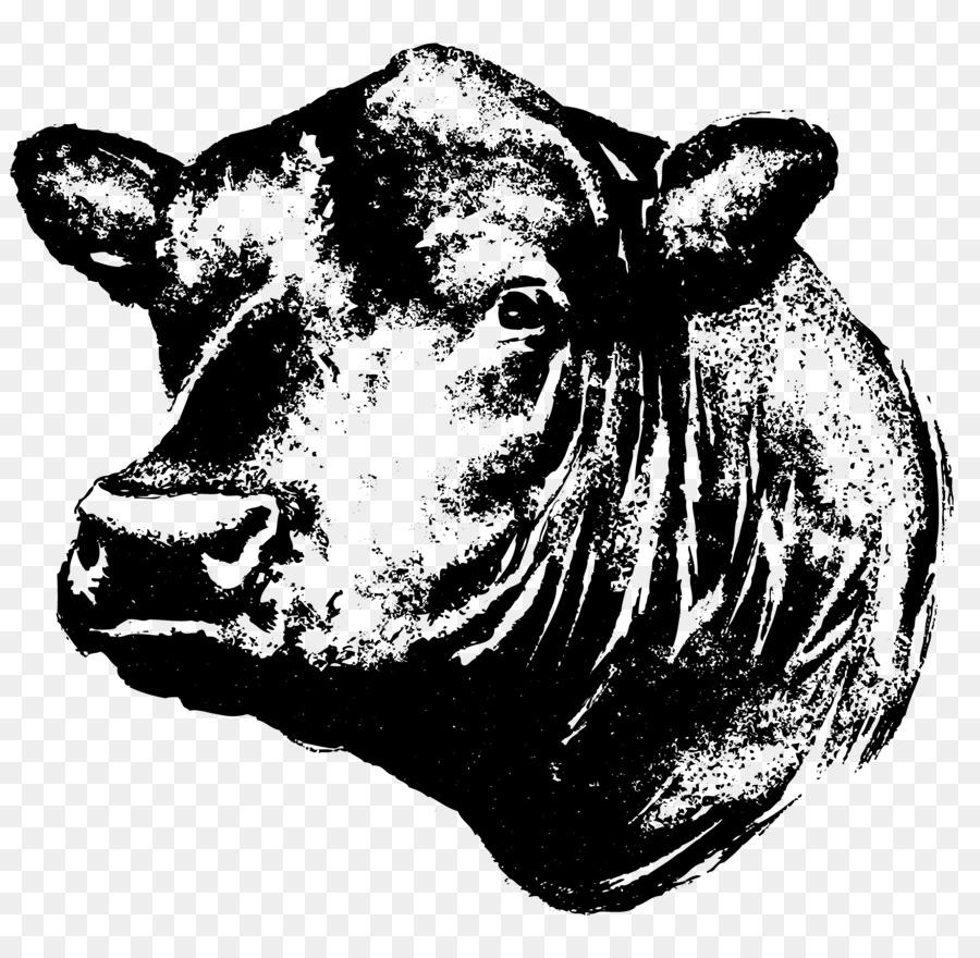 Angus bull head clipart jpg library stock Pig Cartoon clipart - Ox, Beef, Head, transparent clip art jpg library stock