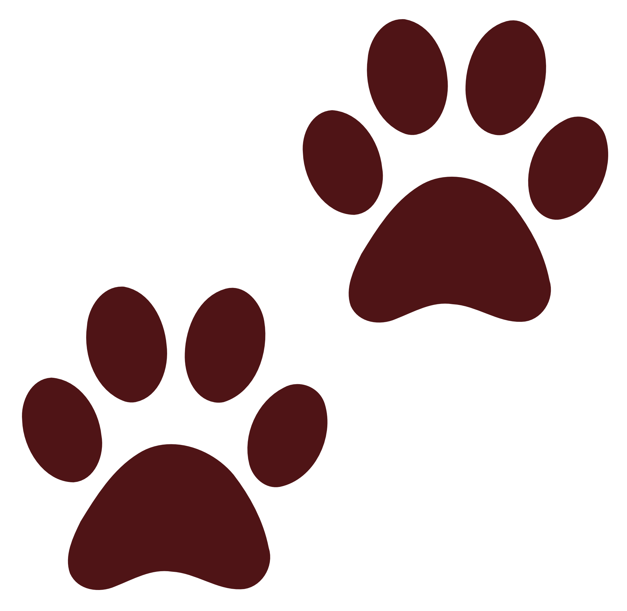 Aniaml pawprints clipart transparent png transparent stock Free Cat Paw Prints Transparent, Download Free Clip Art, Free Clip ... png transparent stock