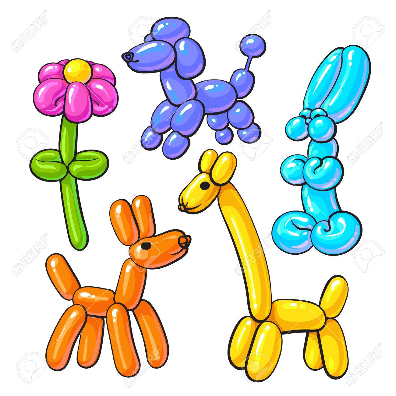 Animal balloon clipart