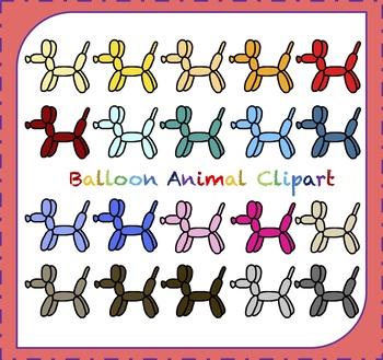 Animal balloon clipart svg Balloon Clipart / Dog Clipart / Balloon Animals Clipart svg