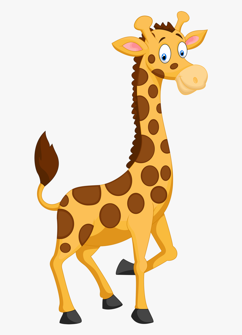 Giraffe image clipart banner transparent download Banner Black And White Jungle Animals Clipart - Giraffe Clipart ... banner transparent download