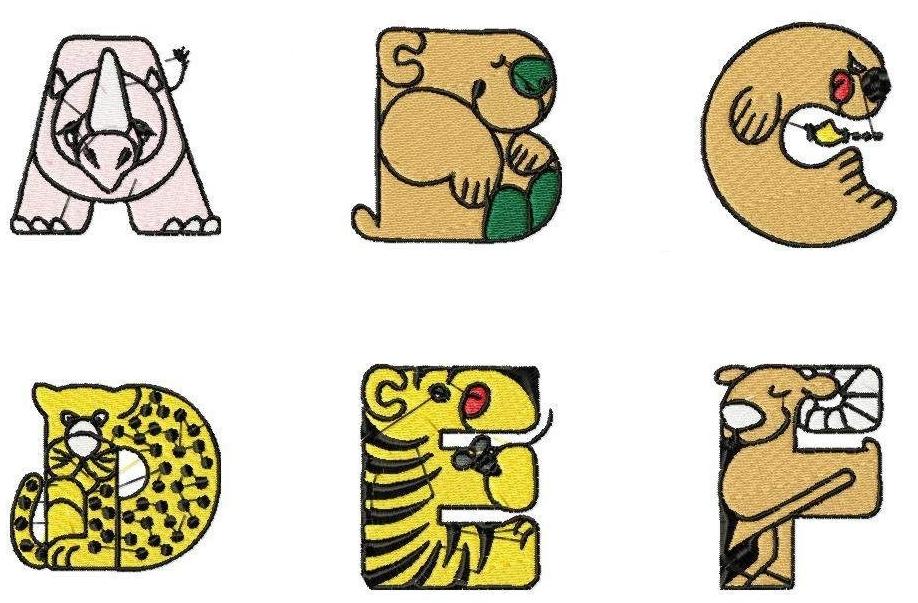 Animal blocks clipart clip art free Animal Letters Clipart   Free download best Animal Letters Clipart ... clip art free