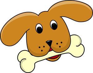 Animal bones clipart free clipart transparent download Dogs Dog Bone Border Clipart Free Images clipart transparent download