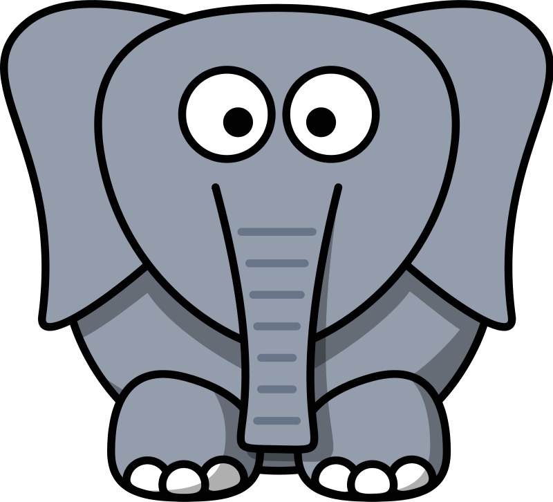 Animal book clipart svg royalty free library Free Cartoon Elephant Clip Art - ClipArt Best - ClipArt Best | First ... svg royalty free library