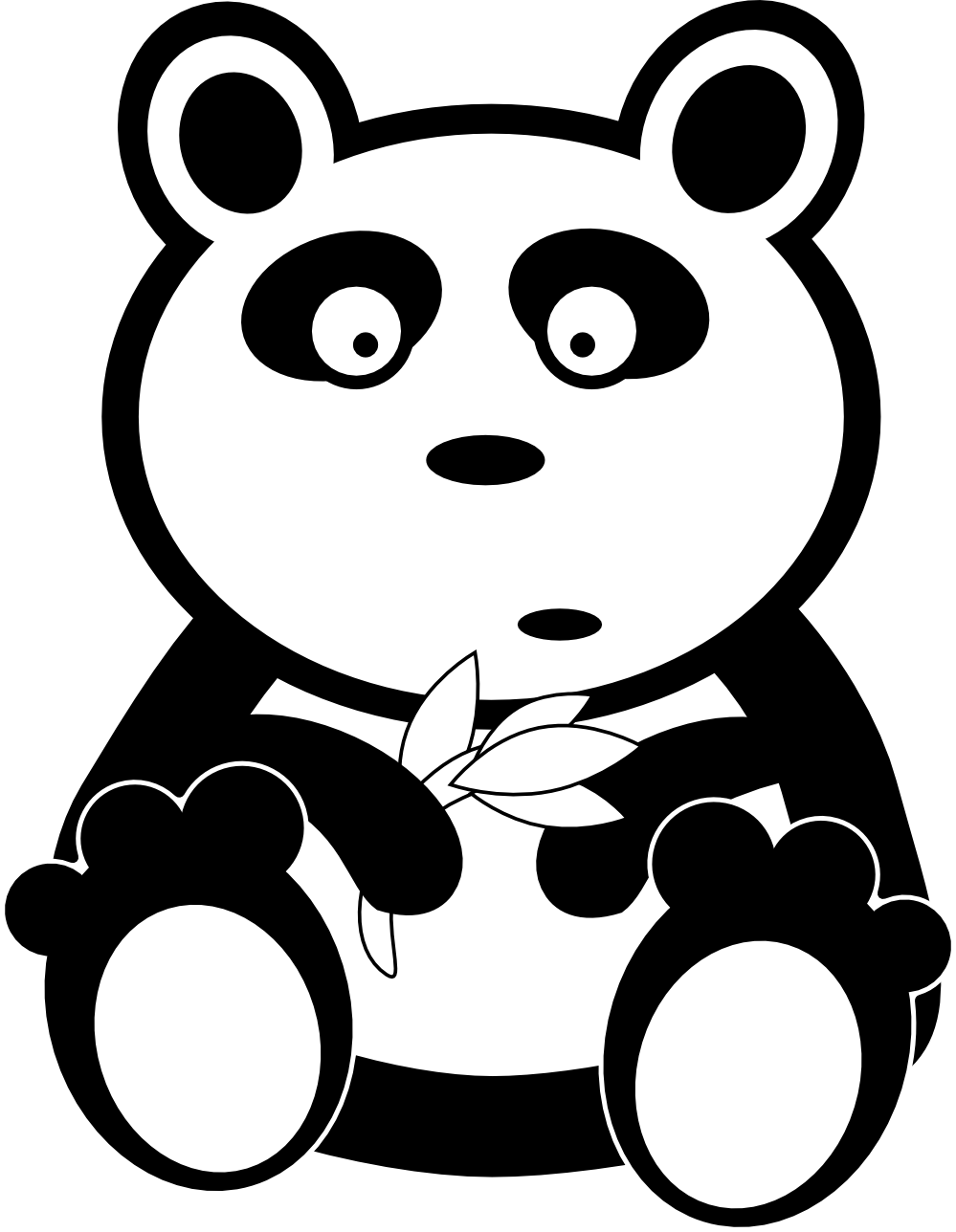 Animal book clipart png black and white clipartist.net » Clip Art » adam lowe panda black white line art ... png black and white