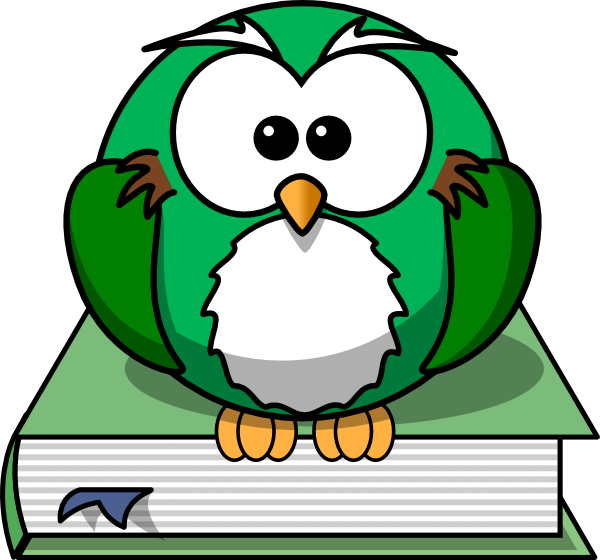 Flying book clipart image freeuse stock Owl2 On The Book Clip Art at Clker.com - vector clip art online ... image freeuse stock