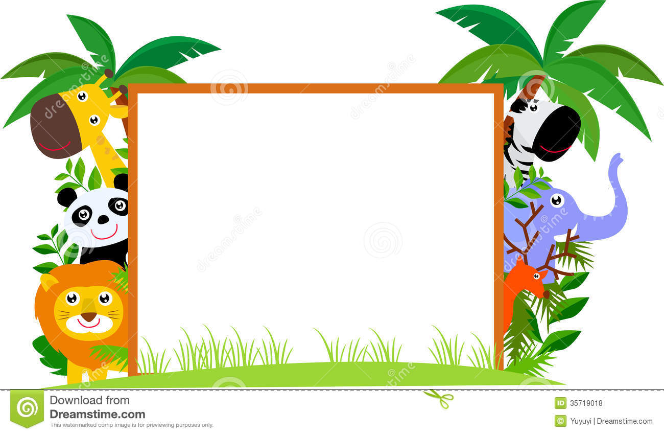 Zoo circle picture frames clipart svg free download Animal Cliparts Border | Free download best Animal Cliparts Border ... svg free download