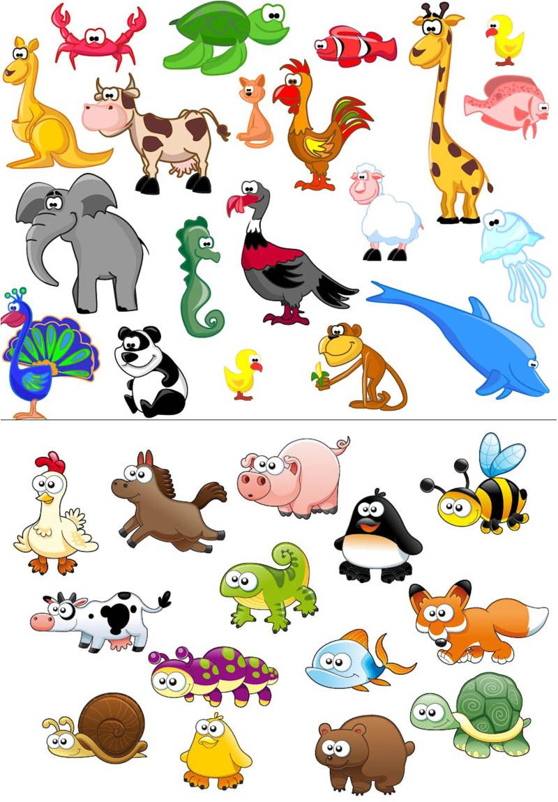 Animal cartoon clipart vector library Cameos in hairspray live clipart | KIDS | Cartoon drawings of ... vector library