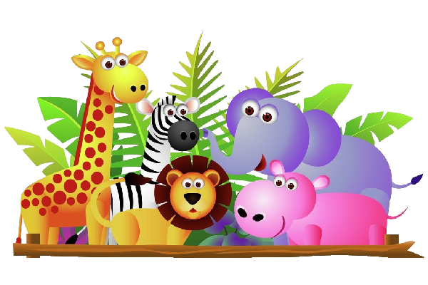 Animal cartoon clipart svg library library Baby Cartoon Animals Clip Art | Use These Free Cute Baby Cartoon ... svg library library