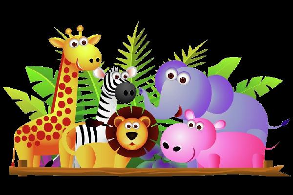 Free clipart animals cartoon clip freeuse library Baby Cartoon Animals Clip Art | Use These Free Cute Baby Cartoon ... clip freeuse library