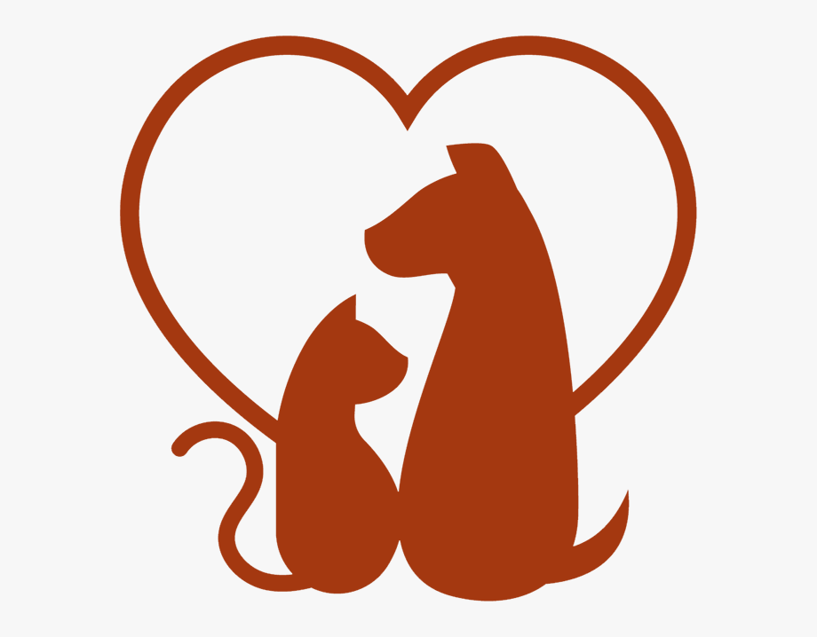 Vet clinic clipart graphic free Collection Of Vet Clinic High Quality Ⓒ - Cat And Dog In Heart ... graphic free