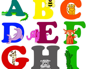 Clipartfest. Animal clipart alphabet letters