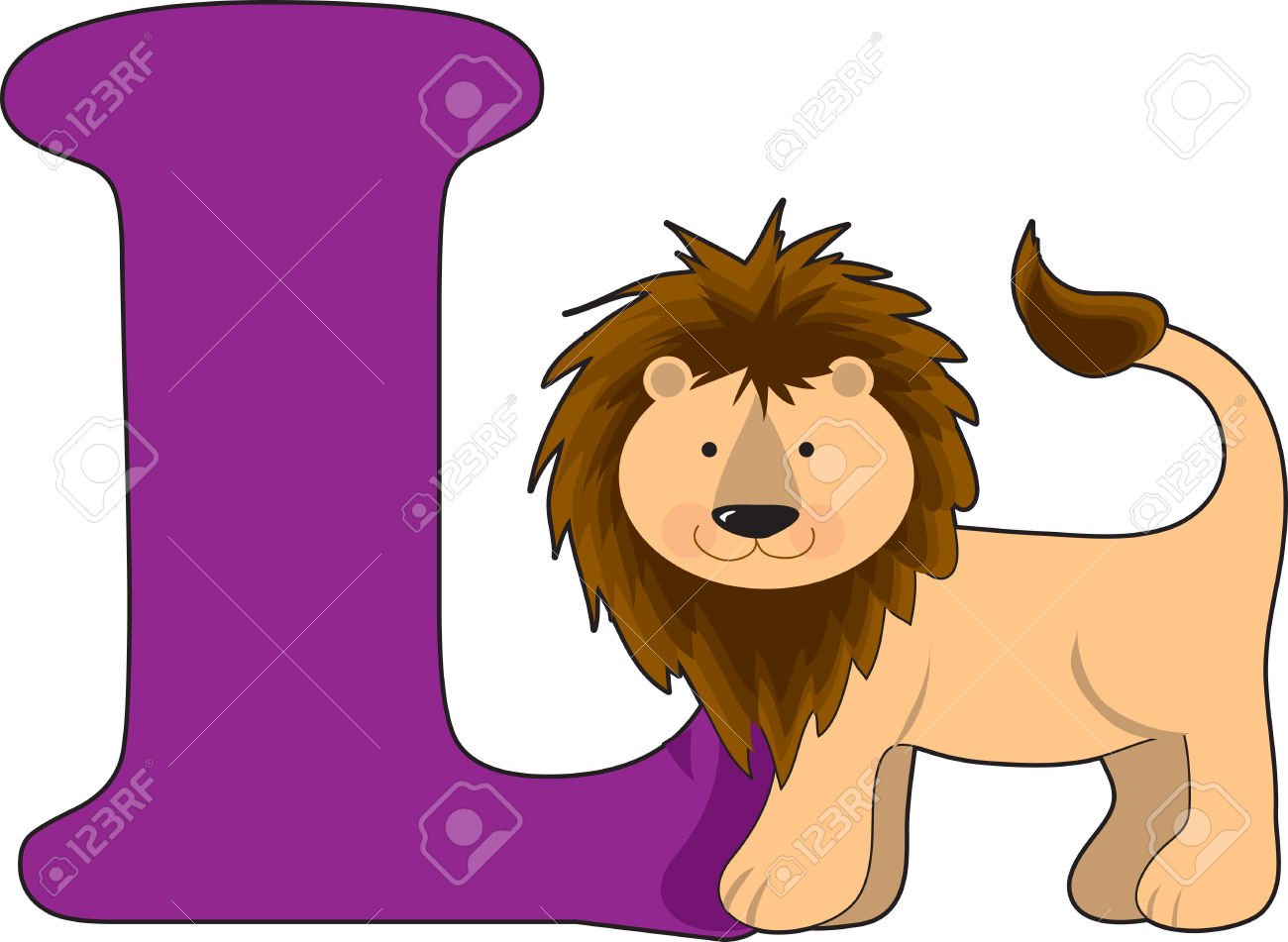 Letter royalty free cliparts. Animal clipart alphabet letters