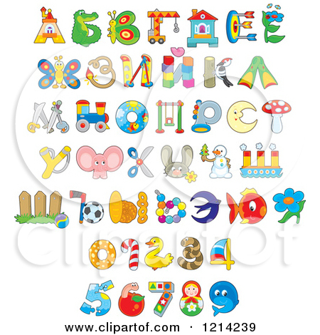 Animal clipart alphabet letters. Cartoon of and object