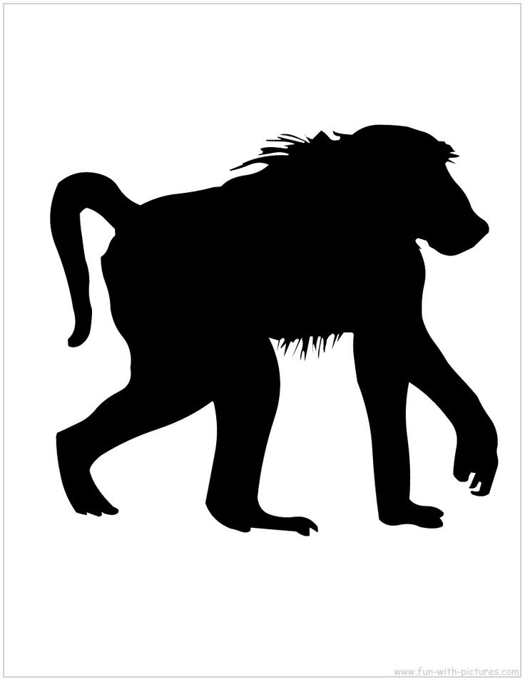 Animal clipart black silhouette png free library Free Cliparts African Animals, Download Free Clip Art, Free Clip Art ... png free library
