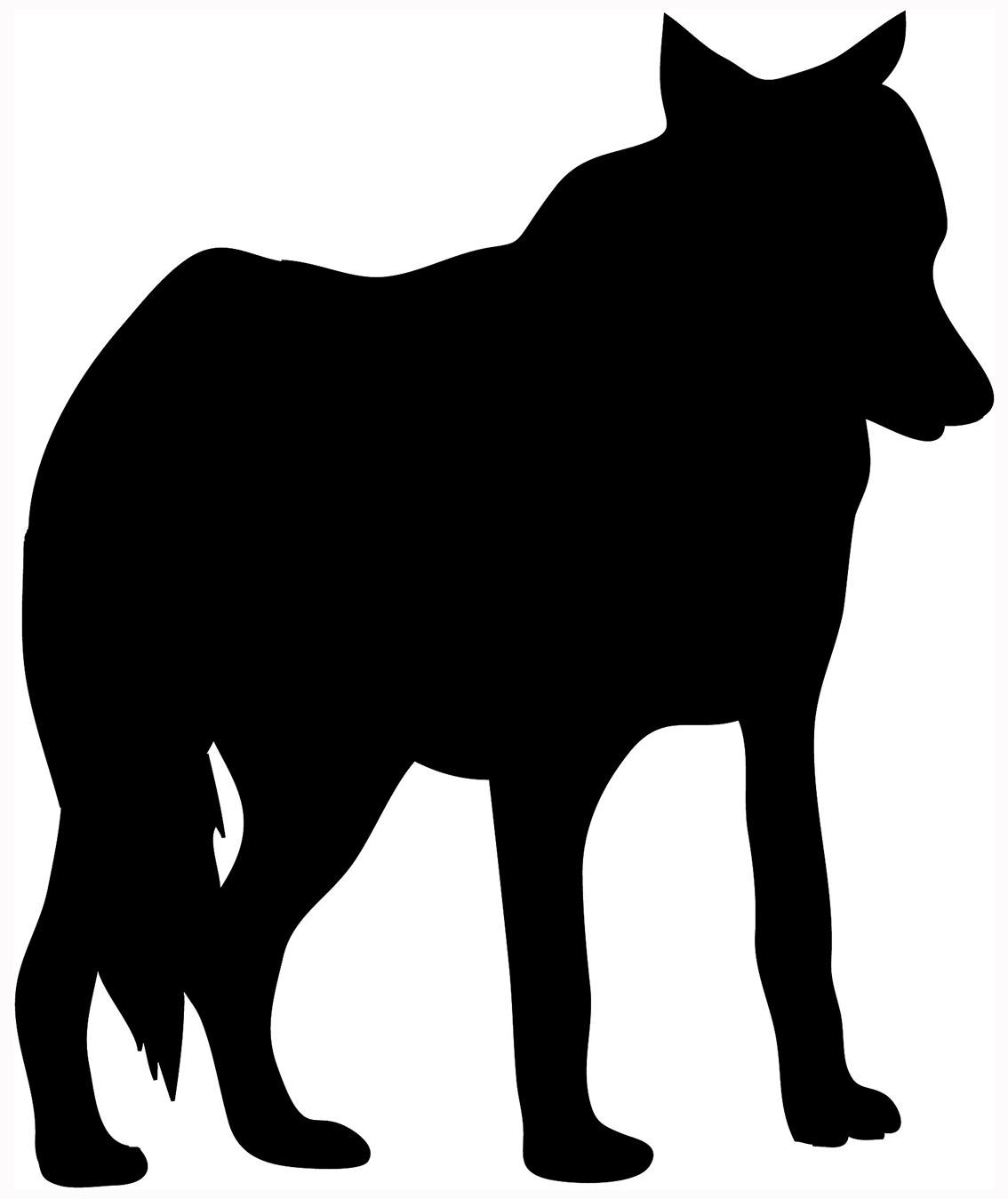 Animal clipart black silhouette clip black and white library Animal Silhouette, Silhouette Clip Art clip black and white library