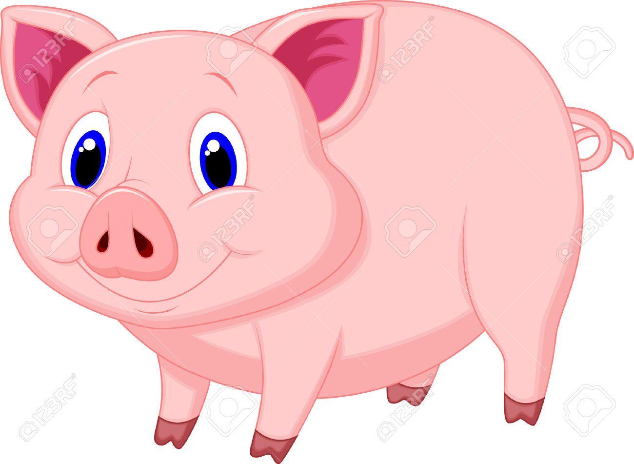 Animal clipart cerdo clip library download Resultado de imagen para imagenes de chancho animados | NOMBRE DE ... clip library download