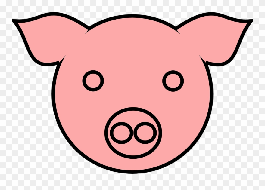 Animal clipart cerdo clip freeuse stock Mammal Clipart Farm Animal Head - Orejas De Cerdo Dibujo - Png ... clip freeuse stock