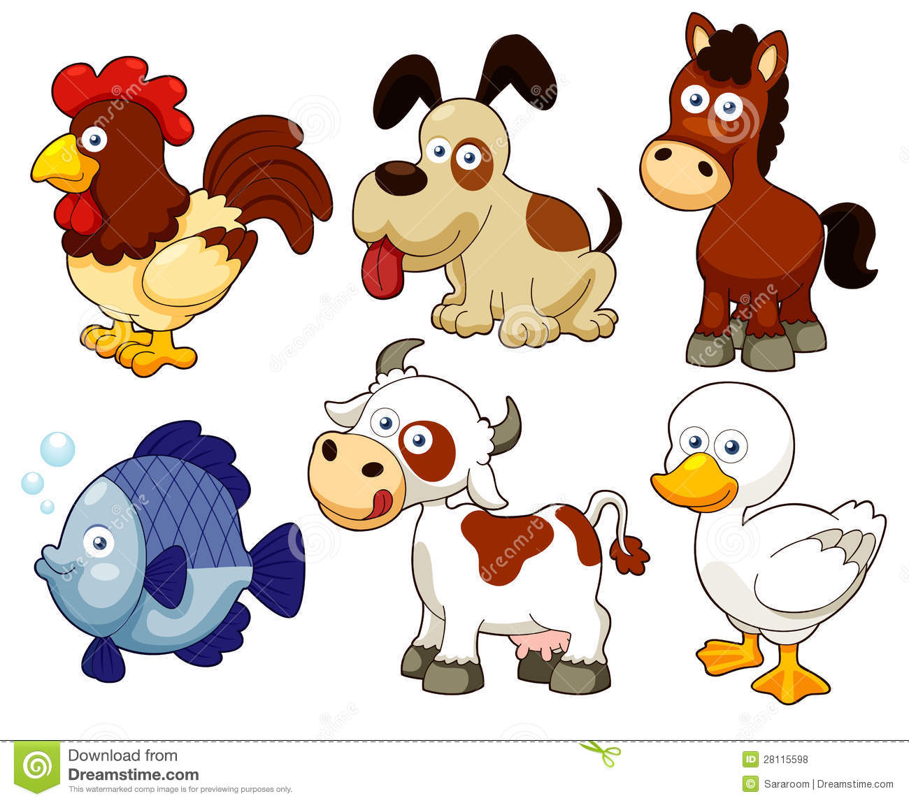 Animal clipart clipart freeuse Clipart animal images - ClipartFest freeuse