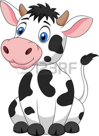 Animal clipart cow clip art royalty free stock Stock Vector | Cartoons | Cartoon cow, Cow drawing, Cute cows clip art royalty free stock