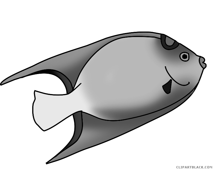 Animal clipart fish free download Colorful Fish Animal free black white clipart images clipartblack ... free download
