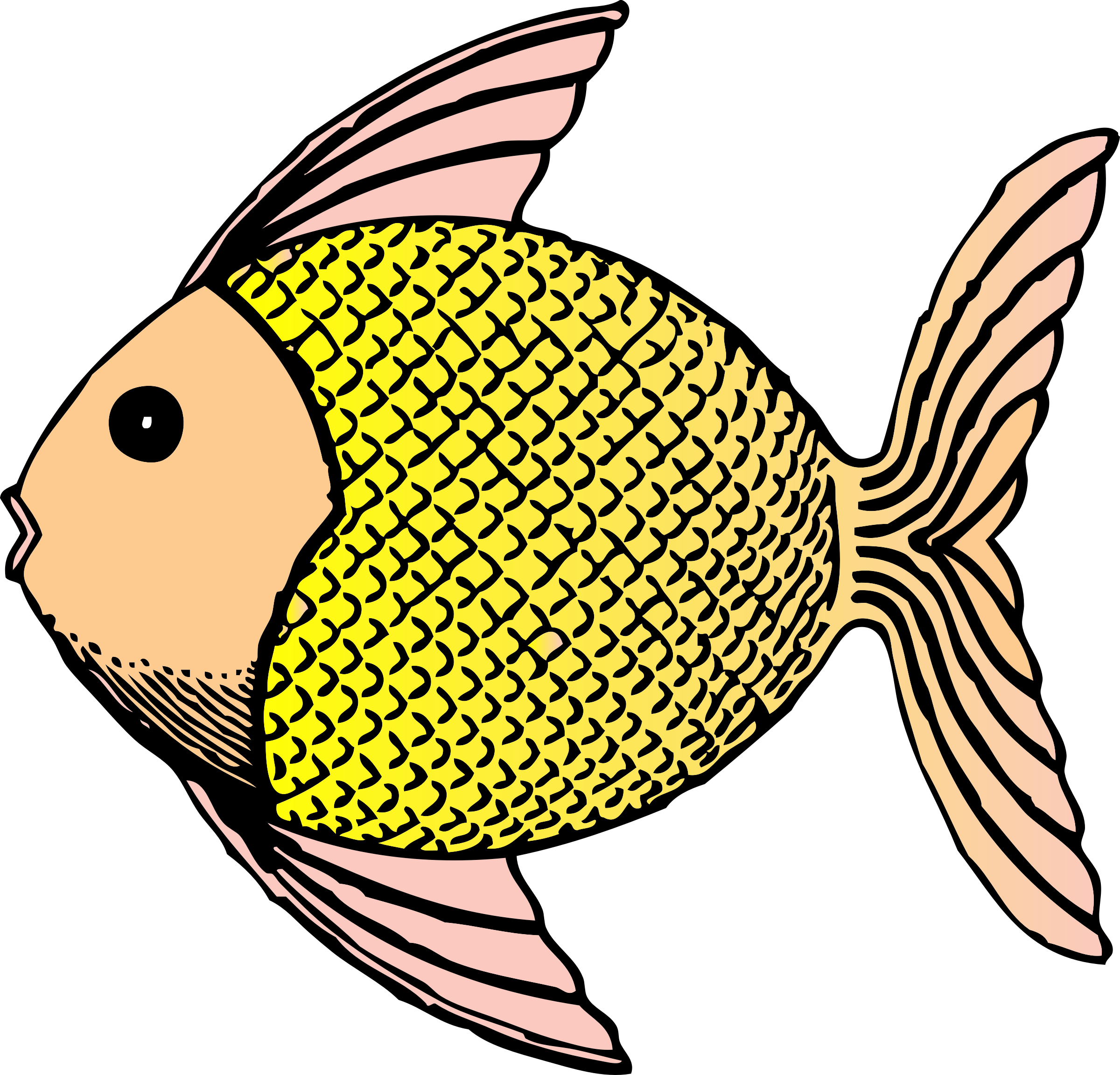 Animal clipart fish clip freeuse Clipart - tropical fish clip freeuse