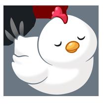 Animal clipart gallikna vector free library gallina regordeta | siluetasymas | Kawaii drawings, Cute cartoon ... vector free library
