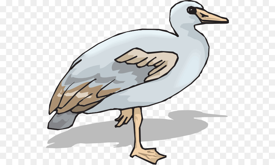 Animal clipart ganso graphic royalty free library Bird Line Art png download - 600*539 - Free Transparent Goose png ... graphic royalty free library