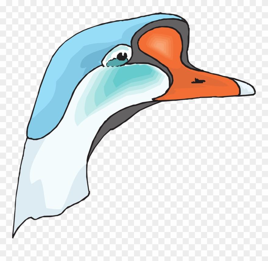 Animal clipart ganso clip download Clip Art At Clker Com Vector Online - Cabeza De Ganso Png ... clip download