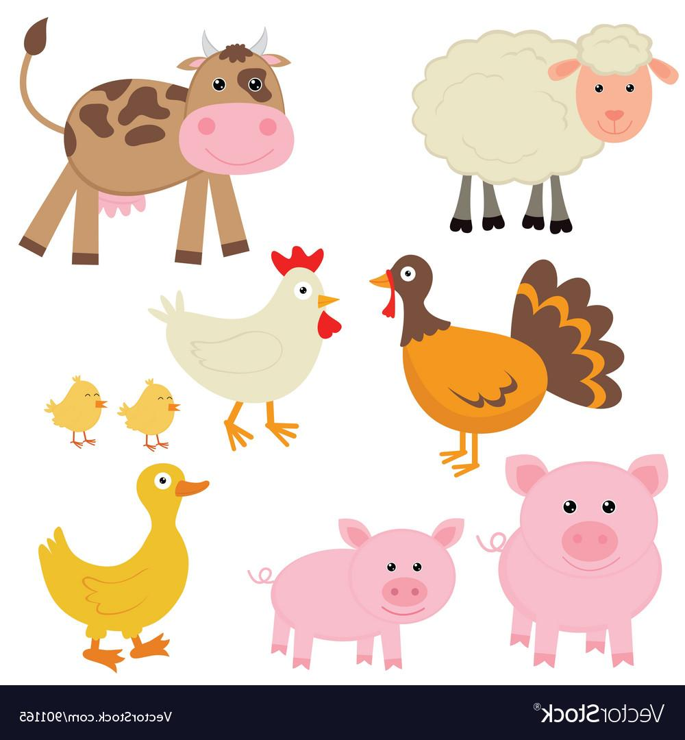 Cute farm animal clipart clip freeuse library Best HD Cute Farm Animal Clip Art Image » Free Vector Art, Images ... clip freeuse library