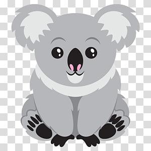 Animal clipart koala freeuse Baby Koala Bear , rhino transparent background PNG clipart | PNGGuru freeuse
