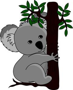 Animal clipart koala image transparent stock Free Free Koala Clip Art Image 0515-1005-1302-0533 | Animal Clipart image transparent stock