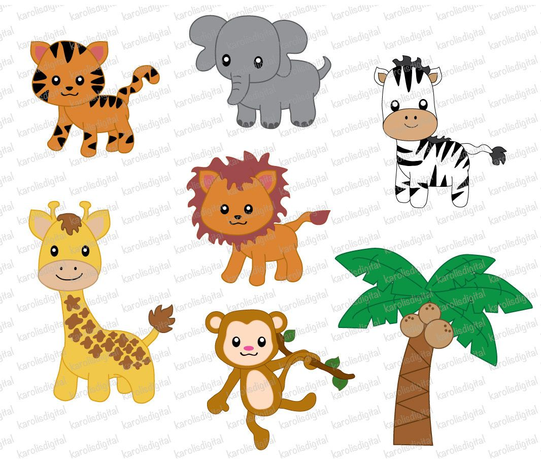 Animal clipart no background picture transparent library Pin by Tammy Akins on Clipart | Clip art, Rainforest animals, Art picture transparent library