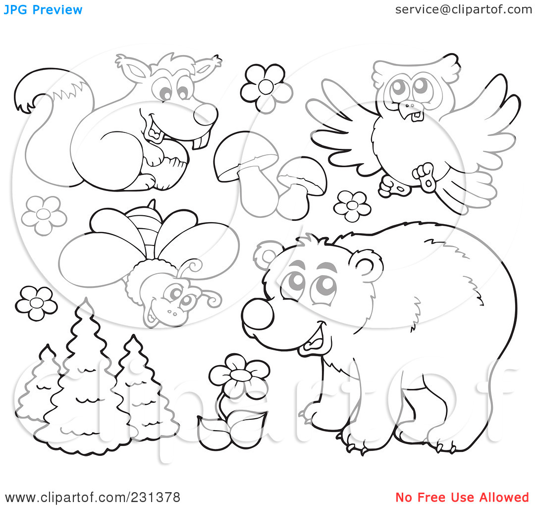 Royalty-Free (RF) Clipart Illustration of a Digital Collage Of ... clip freeuse library