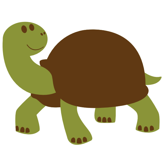 colorful animal turtle tortise animal scalable vector graphics svg ... clip art