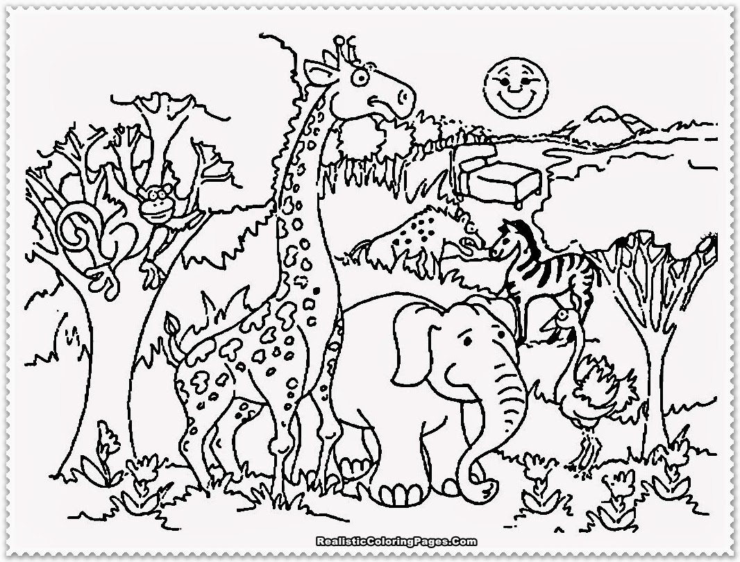 Cute Animal Preschool Clipart - Clipart Kid clipart black and white library