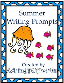 Animal clipart used for writing prompts png free Summer Writing Prompts png free