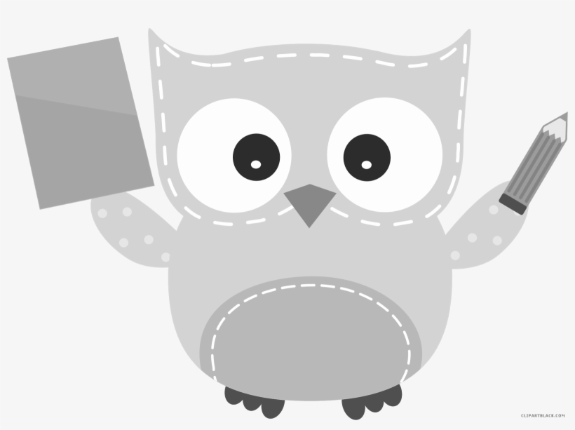 Animal doing math clipart black and white clip freeuse download Owl Math Animal Free Black White Clipart Images Clipartblack - Math ... clip freeuse download
