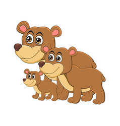 Animal family clipart vector vector library library Bear Family Clipart Vector Images (37) vector library library