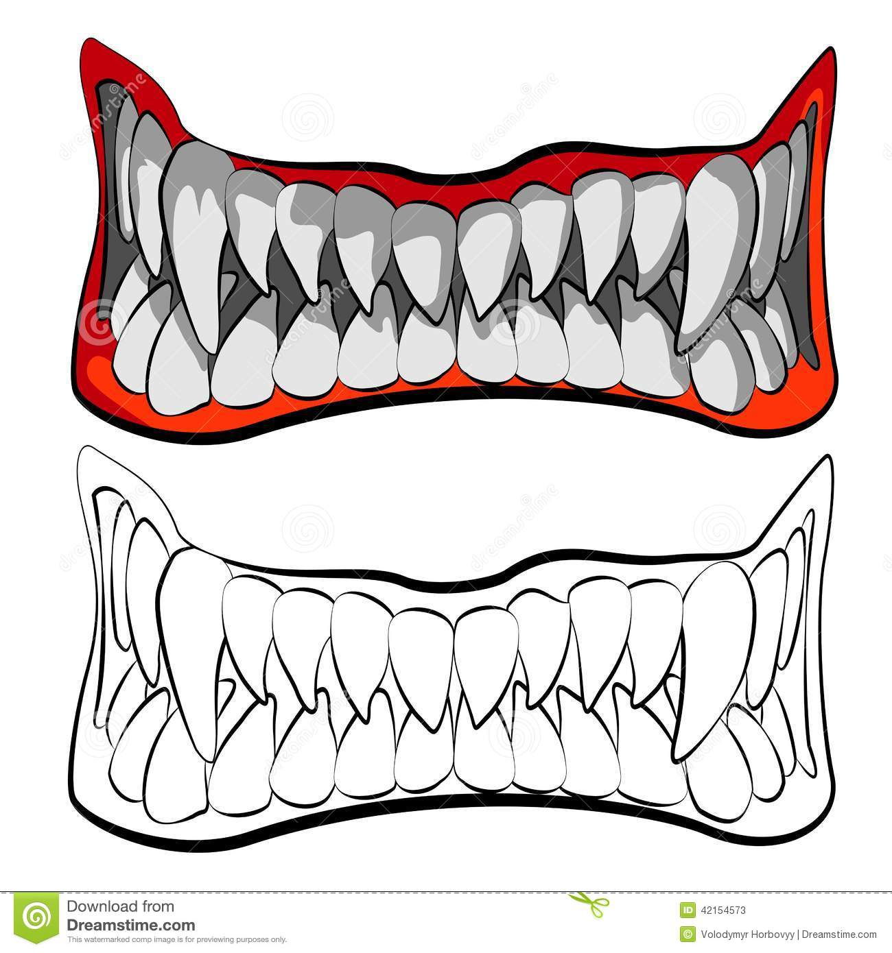Animal fangs clipart image transparent download Sharp Teeth Clipart | Free download best Sharp Teeth Clipart on ... image transparent download