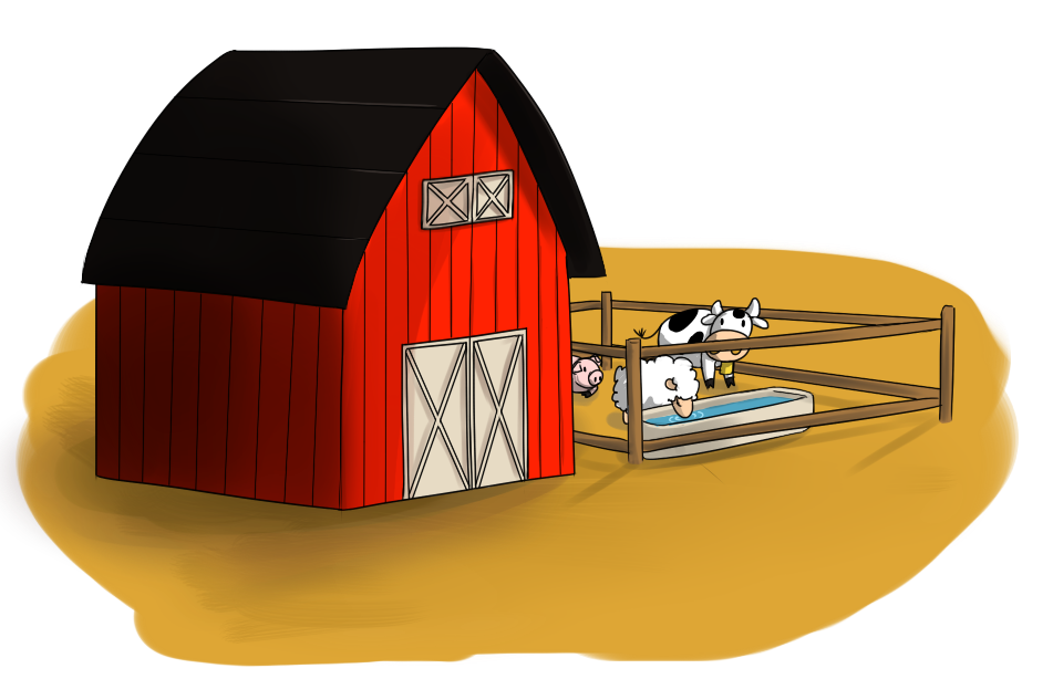 Clipart farm house clip library download Farm Clipart. Clipart Info Farm N - Deltasport.co clip library download